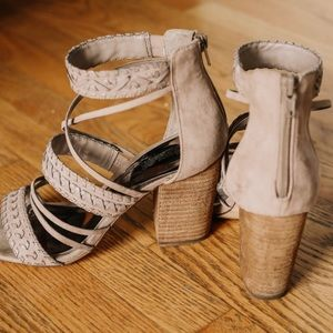 Carlos by Carlos Santana casual leather heels